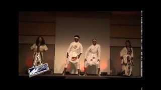 Feker Yehunie Belay, Aryam Btew, Saizer Abdulwasi, and Nohamin Gebremichael GMU Eskista Performance