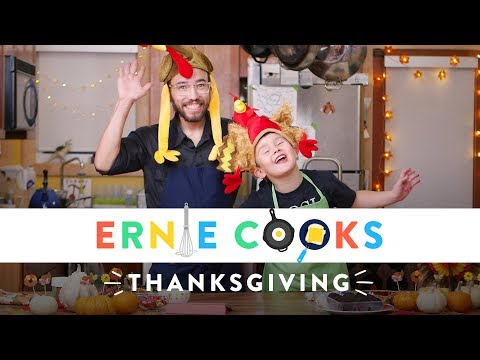 Ernie Cooks Thanksgiving Turkey Cookie Balls | Ernie Cooks | HiHo Kids