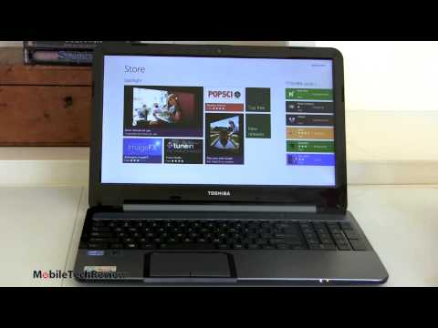 Toshiba Satellite S955 Windows 8 Laptop Review