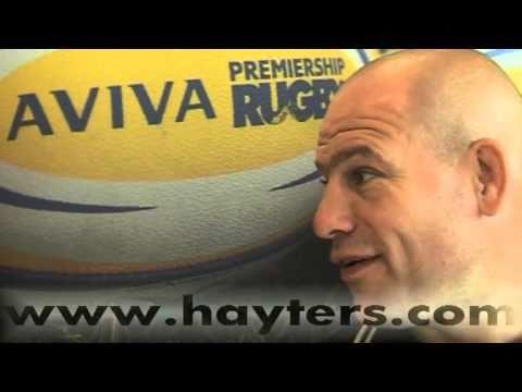 Richard Cockerill Interview   26-Aug-10