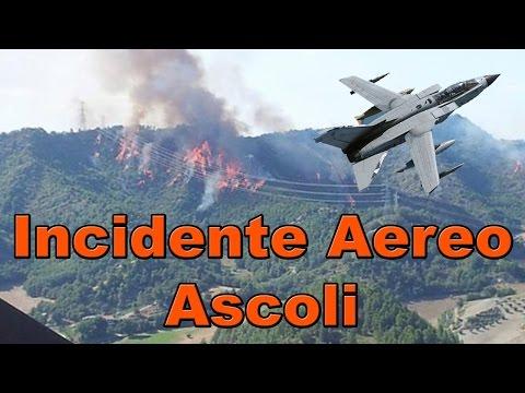 Tornado Ascoli Incidente Aereo - Scontro in Volo e Precipitati