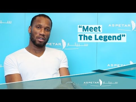 Exclusive interview with footballing superstar Didier Drogba