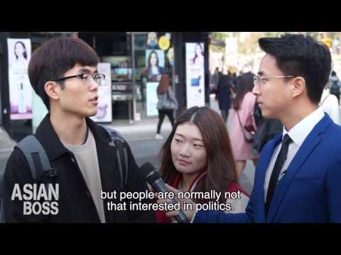 What Young Koreans Think Of Their President (Presidential Scandal) | 대통령 스캔들에 대한 한국청년들의 생각