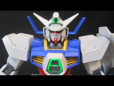 1/48 Gundam Age-1 Normal (Part 4: Parts) Mega Size Model Age gunpla review