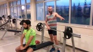 BENCH PRESS TESTİ  AİBÜ/BESYO