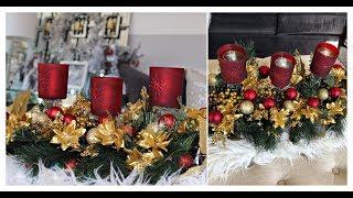 DOLLAR TREE DIY | INEXPENSIVE CHRISTMAS GLAM DECOR