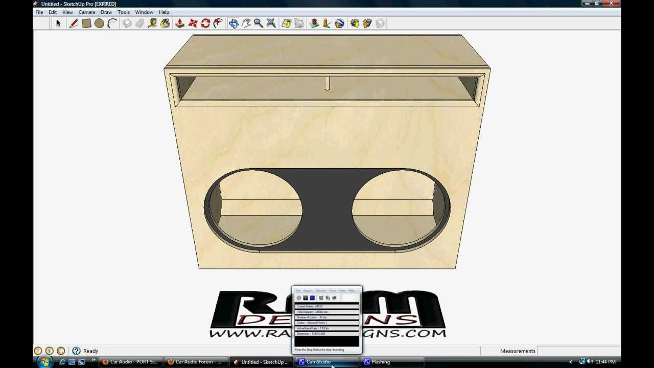 Ram Designs Re Audio Sx 18 Quot Wall Box Design Flush Mount