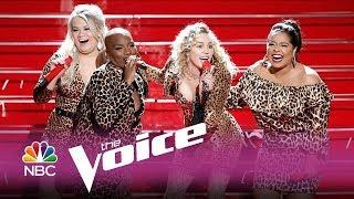 Miley Cyrus - Man! I Feel Like a Woman (Shania Twain Cover) feat. The Voice