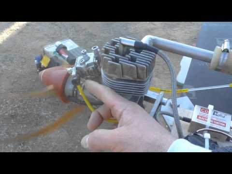 Supertigre 2000 - 25cc conversion glow - gas