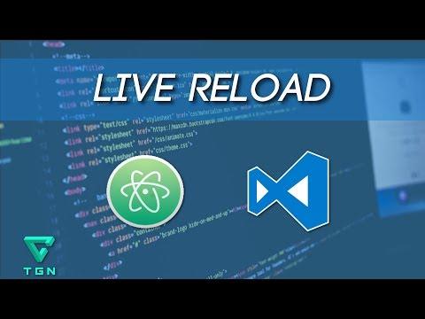 Live Reload en Atom y VS Code - Extensiones para desarrolladores