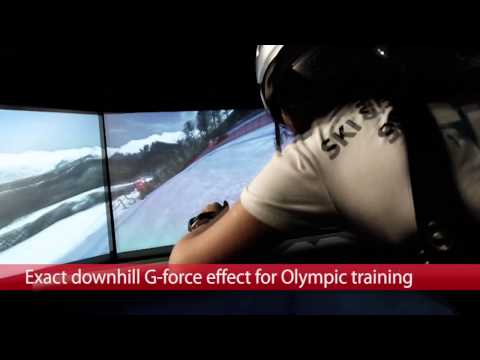 Olympic Sochi 2014 Downhill Course for Ski & Snowboard Simulator SkyTechSport