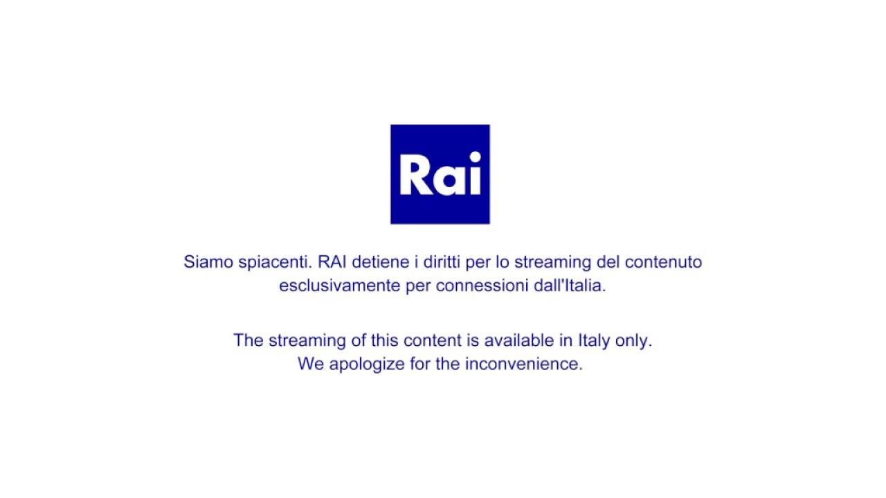 Rai Tv La Diretta Di Rai 1 Youtube