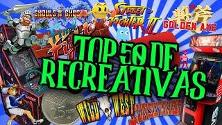 Los mejores 50 juegos históricos de máquinas recreativas. Top 50 de recres. #Frikisocial #MrEskaizo