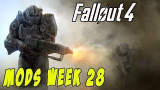 FALLOUT 4 MODS - WEEK #28: Showers & Pools, Cybernetics, Cheating Holotapes & More!