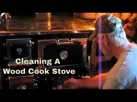 Wood Cook Stove Cleaning