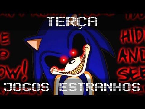 Sonic.EXE (Por que vocês pediram para eu jogar isso?) - Jogos mais Estranhos do Mundo.