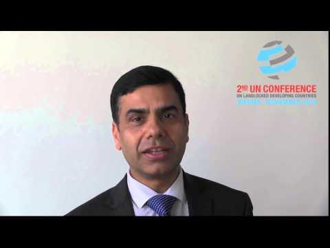 UN Under-Secretary-General Acharya on the 2nd UN Conference on LLDCs, 3-5 Nov 2014, Vienna / part 1