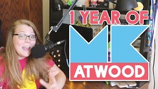 1 Year of MKatwood Giveaway & Beach City Con!