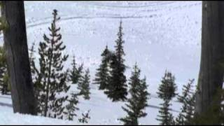 awesome snowmobile wreck- sandpoint idaho