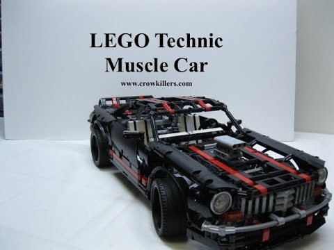 lego technic muscle car youtube. Black Bedroom Furniture Sets. Home Design Ideas