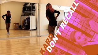 [TUTORIAL] K.A.R.D - Don't Recall   Dance Tutorial by 2KSQUAD