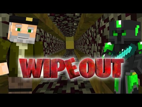 SALTO EXPLOSIVO!! WIPEOUT | Minecraft Race Map