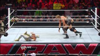 Sin Cara vs. Jack Swagger: Raw, March 11, 2013