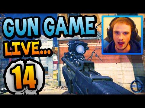 amazing Comeback?! - Gun Game Live W  Ali-a #14! - (call Of Duty: Ghost) video
