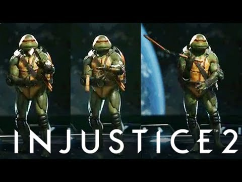 INJUSTICE 2 - Trailer Date Confirmed + New Mikey Animation - TMNT