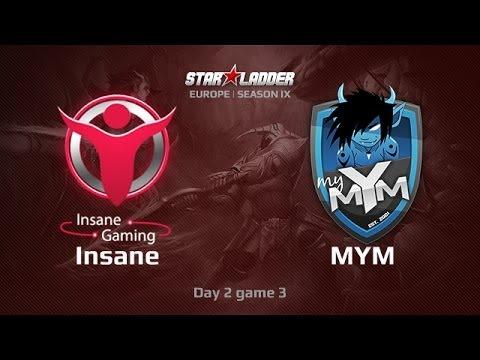 Insane vs MyM ,Star Series Europe Day 2 Game 3