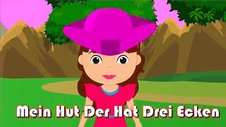 Mein Hut, Der Hat Drei Ecken + 35 Min Deutsche Kinderlieder | Kinderlieder Zum Mitsingen