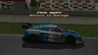 [Game][Racing] GTR2 Driving School Track Work Techniques 1 Basics - 2 Braking - Level 4 Observe