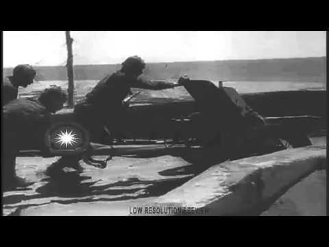 Кинохроника, освобождение Ялты и Алушты, апрель 1944г.
