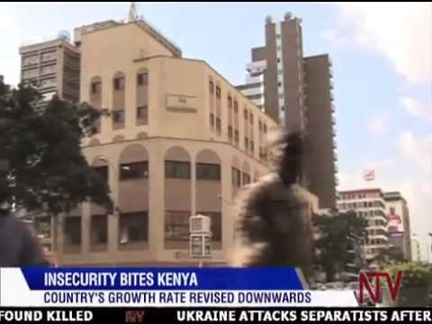 Drop in Kenya's GDP