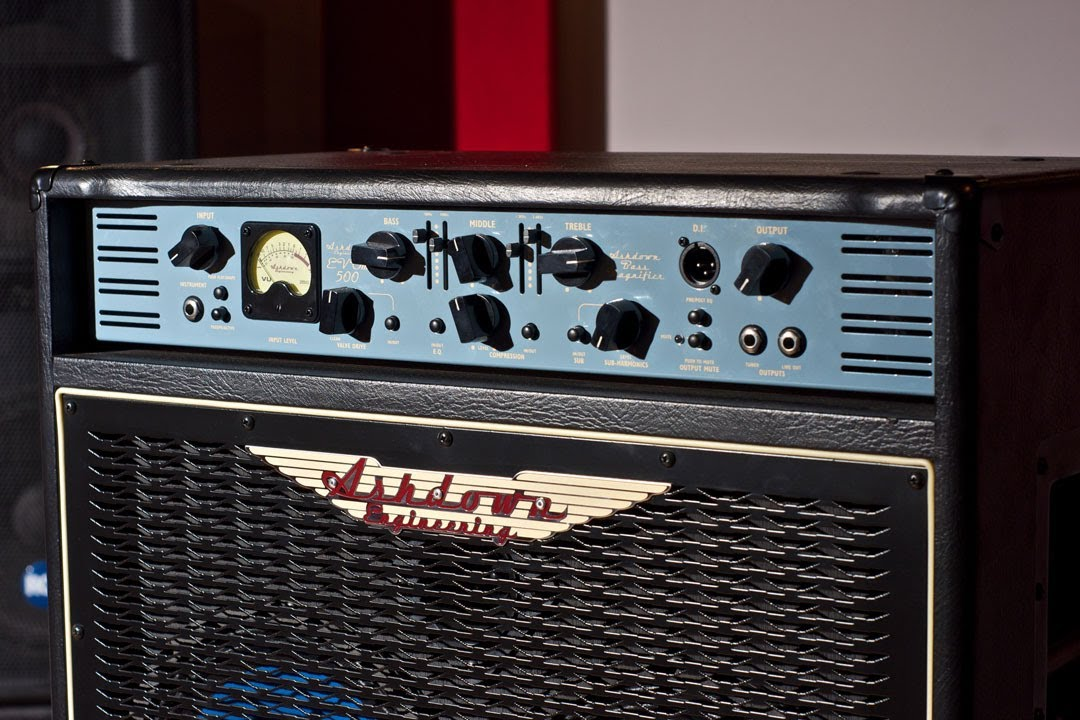 Ashdown Bass Amp Ashdown Bass Amps Demo Abm