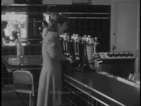 CANADIAN ICE CREAM PARLOR / SODA SHOP.  Vancouver BC.  Circa 1930's