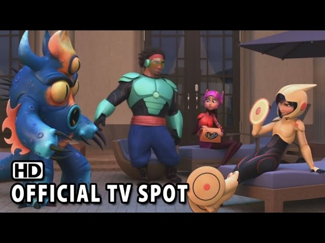 Big Hero 6 TV Spot 'Happy Halloween' (2014) - Disney Animation Movie HD