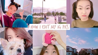 HOW I EDIT MY INSTAGRAM PICTURES / PINK | diane 다이앤