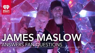 James Maslow Takes Fan Questions | iHeartRadio Music Festival 2017