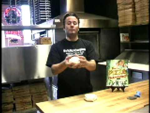 Balling pizza dough