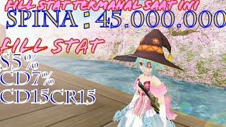 Toram online fill stat s5%cd7%cd15cr15
