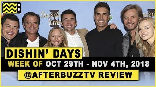 Days Of Our Lives for October 29th - November 2nd, 2018 Review & After Show - Dishin Days