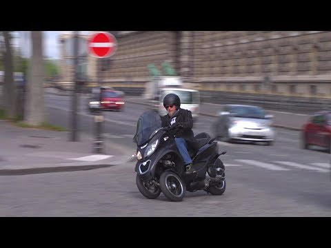 2014 Piaggio MP3 500 Sport ABS in Paris - Full review