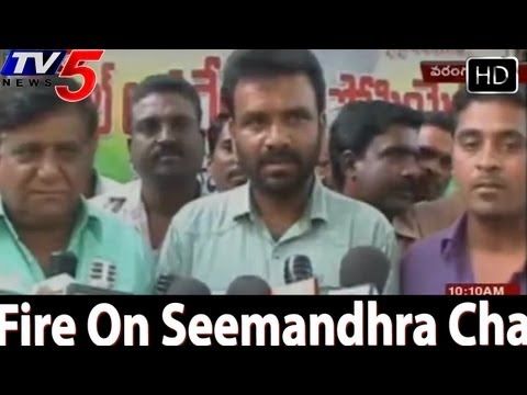 Telangana Cable Operators Fire On Seemandhra Channels - TV5