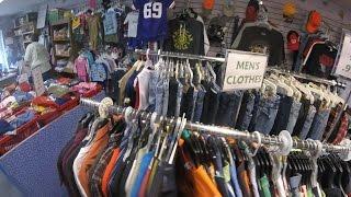Amerika'da İkinci El Eşya Dükkanlarını Geziyoruz! - Amerika Vlog #20
