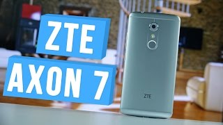 "ZTE Axon 7 - лучший китайский смартфон 2016 года для ""аудиофила"" - unboxing"