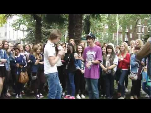 Soho Square Youtube Meet-up -with Caspar Lee, Sam Pepper, Alfie, Marcus &more!