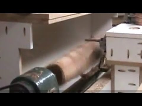 CRAZY Router Lathe 2. Making square legs!!!!
