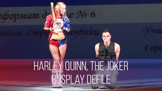 Download Chebicon 2016 Harley Quinn, The Joker - Suicide Squad Сosplay Defile 3Gp Mp4