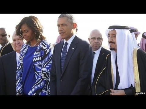 Obama Visits Saudi Arabia's New King Salman: Breaking News